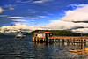 ThE ColoURs Of ALasKa (J HooK) Tags: sky seascape water alaska clouds pier boat dock colorful ship northwest craig gulfofalaska lakescape roughwater choppywater aplusphoto photofaceoffwinner adoublefave pfogold
