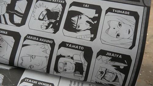 Utzimaki Naruto Comics