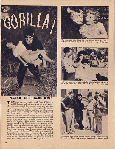 'Gorilla!' Picture Show 1949