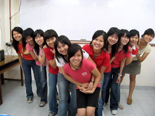 Ladies' formation