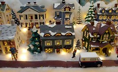 Huge Christmas Village