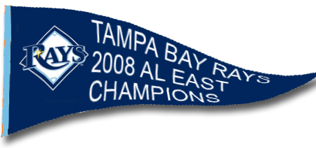 [LATE NIGHT HAPPY HOUR] Tampa Bay Rays: 2008 AL East Champions