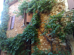 Maisons couleur ocre (Ariane Gaudefroy) Tags: house france architecture maison roussillon vigne ocre lubron
