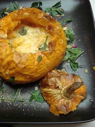 Roasted Golden Nugget Squash