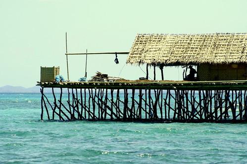 platform at Danahon Reef, Hingutanan