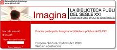 Procés participatiu Imagina la biblioteca pública del S.XXI | Imagina - Biblioteques