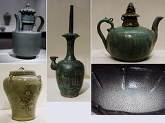 Korean ceramics and bronze (Ramon2002) Tags: sanfrancisco bronze ceramic korea asianartmuseum celadon goryeo