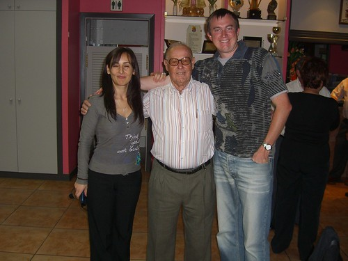 Marga, Abuelo, and Erik
