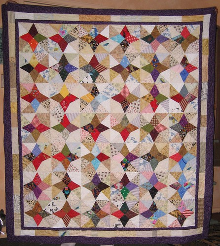 Jewells' birthday quilt!