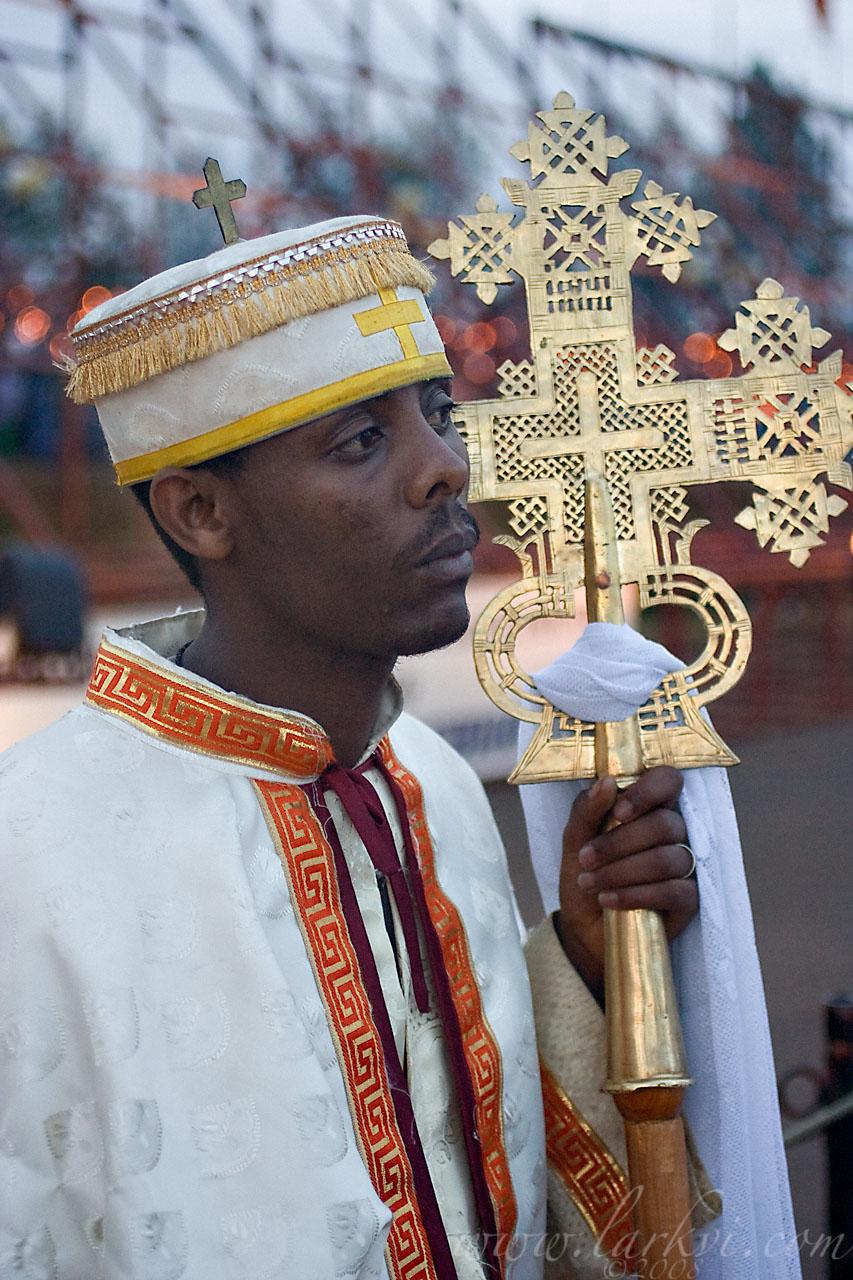 Crossbearer #2, Meskel, Addis Ababa, Ethiopia, 2008