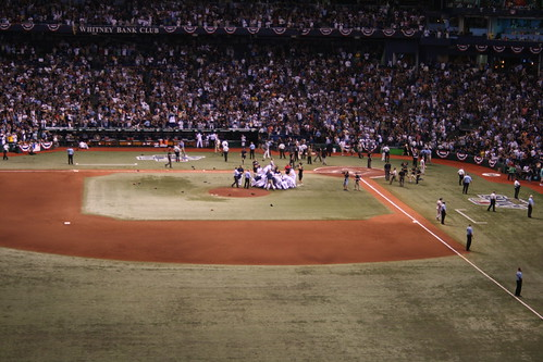 Tampa Bay Rays Vs. Boston Red Sox (Game 7 ALCS)