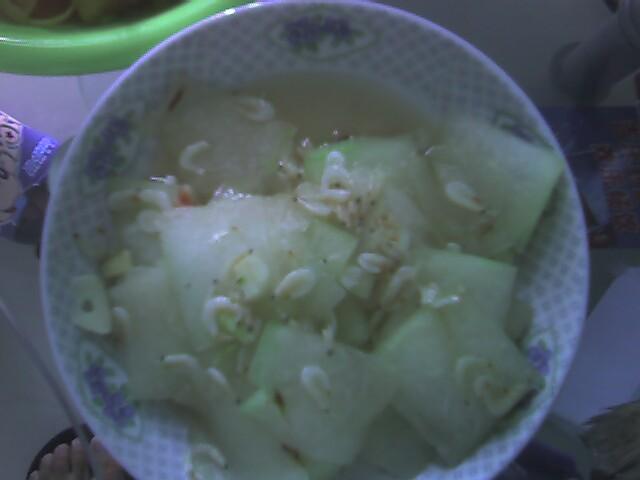 20081026午餐_虾皮冬瓜