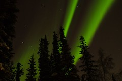 View from my front yard (explored) (Dan King Alaskan Photography) Tags: alaska canon20d northernlights auroraborealis northpole sigma2470mm anawesomeshot theunforgettablepictures natureandnothingelse
