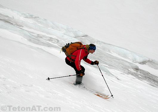 Glacier skiing in Wyoming