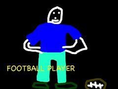 Football player Bob (MrsLow) Tags: skeleton calavera kidpix 4p