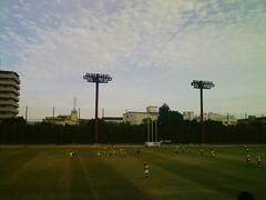 秋空とラグビー