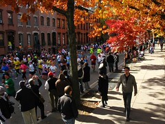 NYC Marathon 2008 Bed-Stuy Clinton Hill Style