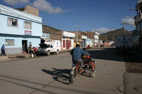 Morning in Sicuani, Peru.
