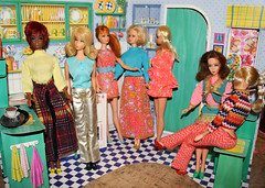 in the kitchen (LaneyCummings) Tags: fashion mod doll barbie suzette uneeda