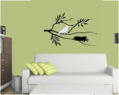 birdon berry branch (leenthegraphicsqueen) Tags: trees flower tree bird art nature floral leaves birds wall modern cherry botanical leaf bedroom graphics sticker branch graphic natural nest blossom outdoor quote branches nursery decoration vinyl wallart saying livingroom made gift diningroom trendy twig decal lettering phrase custom decor interiordesign homedecor personalized leen custommade removable walldecal leenthegraphicsqueen