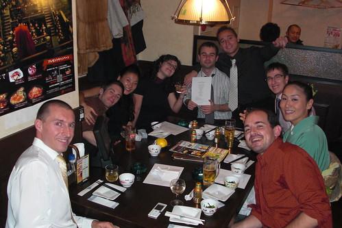 de cena en el Izikaya