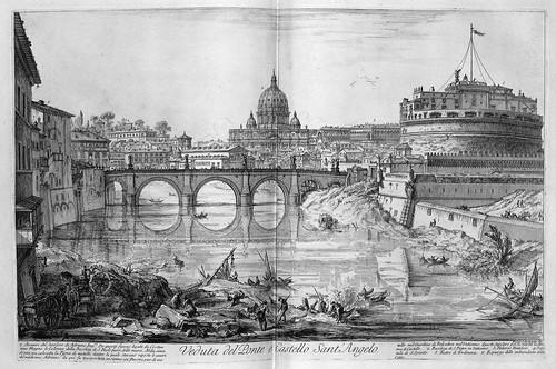 008-Vista del puente y castillo de Sant Angelo