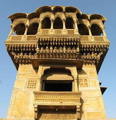 Salim Singh-ki Haveli - Jaisalmer, Rajasthan, India