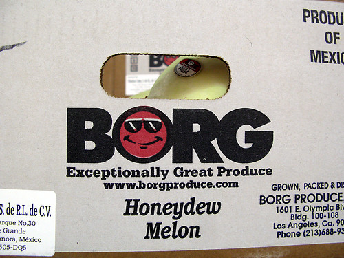 Borg melons eat YOU.