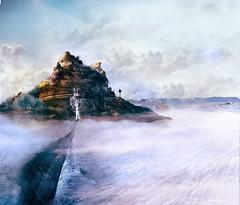 The ice fountain (RolanGonzalez) Tags: snow ice fountain landscape rocks
