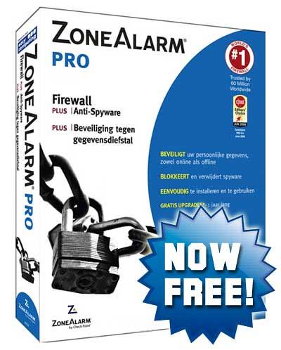 Zone Alarm Pro Firewall
