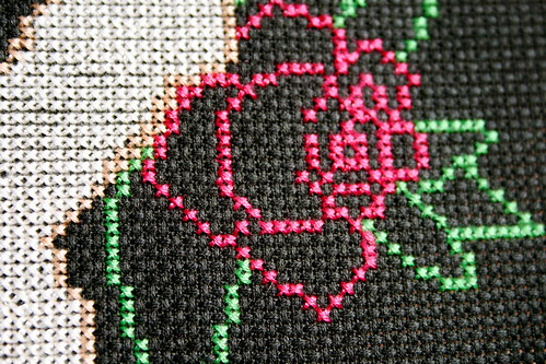 Stitch'd Ink - Rose Outline