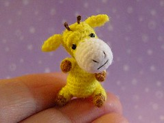 Andrew (MUFFA Miniatures) Tags: cute miniature funny doll crochet giraffe amigurumi dollhouse muffa cdhm threadanimals