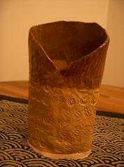 Handbuilt Vase (front)