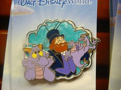 Dreaming of the Past: Figment and Dreamfinder (partyhare) Tags: epcot pin dream disneyworld imagination wdw waltdisneyworld figment epcotcenter pintrading journeyintoimagination disneypin disneypins dreamfinder yomd journeytoimagination