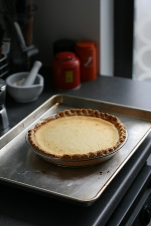 Buttermilk Silk Pie