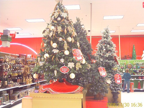 Target is Looking Very Festive Today