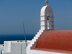 Church roof (Carlitos) Tags: sea island mar europa europe greece grecia hora isla chora cyclades mykonos ellda  cicladas