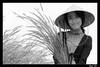 Tender Fountain Grass (Đạt Lê) Tags: blackandwhite bw white black fountain girl smile grass mono nikon haiku vietnam lovely simple tamron tender 70300 d40 inh platinumphoto earthasia bestofvietbestphoto vietsuperbest hochim