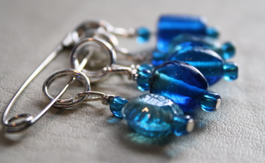 Stitch markers (by me)