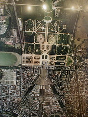 Layout of Versailles is shaped like a human stick figure with smiley face (Chris Devers) Tags: 2003 trip travel vacation paris france face sign plane poster airplane europe honeymoon ledefrance map aircraft balloon wing eu aerialview palace aerial versailles smiley figure stickfigure aerialphoto stick iledefrance overhead fra smileyface parisfrance louisxiv sunking aerialmap itsgoodtobetheking louisquatorze exif:focal_length=55mm exif:exposure=0067sec115 exif:exposure_bias=010ev exif:aperture=f28 parisfra exif:iso_speed=250 camera:make=olympusopticalcoltd camera:model=c860ld360l meta:exif=1257942543 flickrstats:favorites=1 exif:orientation=horizontalnormal exif:filename=dscjpg meta:exif=1350403775