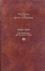 Robert Musil, Las tribulaciones del estudiante Törless