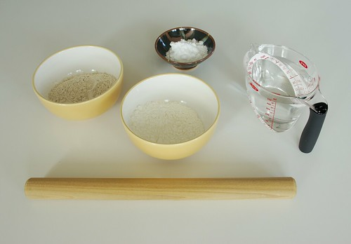 Soba Ingredients