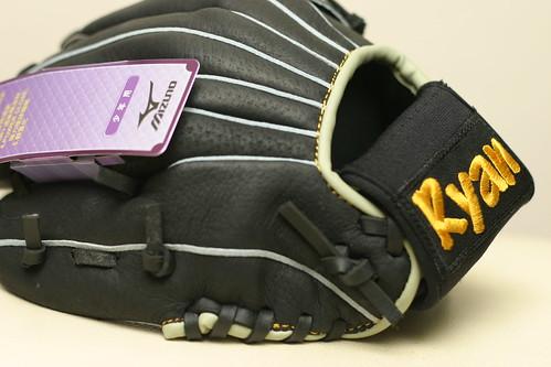 你拍攝的 生日:Ryan的第一個棒球手套 1。