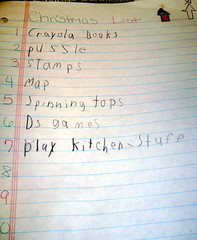 Nick's Christmas List 2008