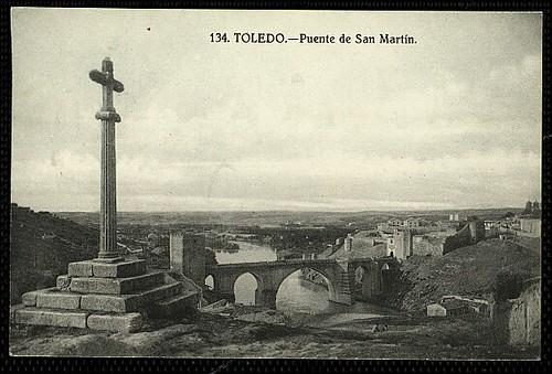 Crucero y Puente de San Martín, Toledo.