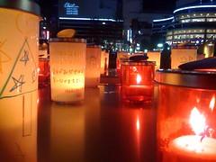 Hibiya Candle Cups (shinyai) Tags: japan tokyo candle cups hibiya