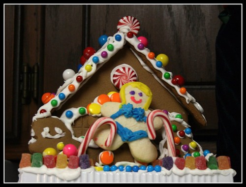 Gingerbread house party by you.