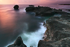 None would deny the beauty of nature, but not everyone is lucky enough to also feel its magic. (tropicaLiving - Jessy Eykendorp) Tags: ocean longexposure light sunset sea bali seascape beach indonesia geotagged coast rocks colours offshore shoreline wave scene utata coastline afterglow canggu efs1022mmf3545usm tropicalliving utatafeature canoneos50d tropicaliving beautifulbali jessyce geo:lon=115157318 geo:lat=8817225 tropicali