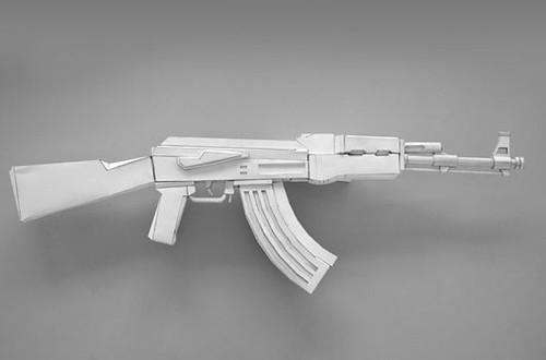 Still A Favourite This Type Of Gun Is The Worlds Biggest Seller And More Than Million Are Manufactured Illegally Each Year Russian Izhavsk Machine