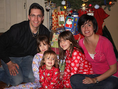 Family, on Christmas Eve